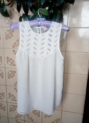 Стильная блуза zebra. с подкладкой. размер с.