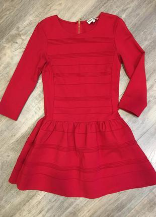 Красное платье miu miu размер м