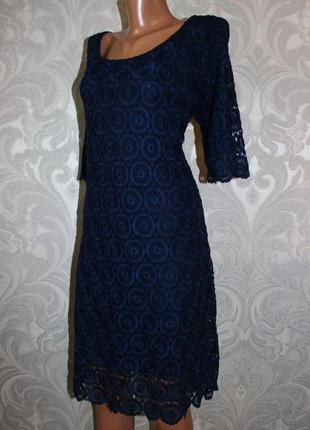 Кружевное платье monsoon р. xl