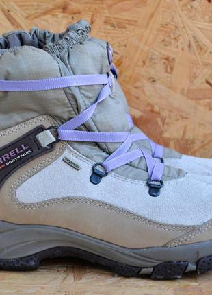Зимние ботинки merrell polartec boots