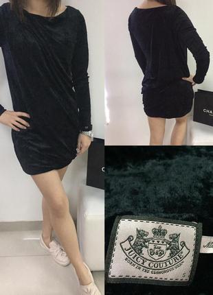 Бархатное платье juicy couture оригинал