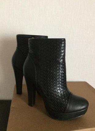 Ботинки 36р плетёнка! идеал! стильно!