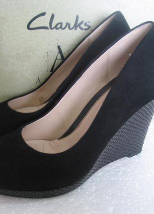 Clarks  кожаные туфли размер 39