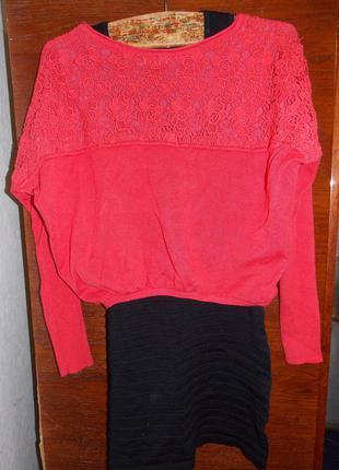 Набор платье + кофта, свитер olko