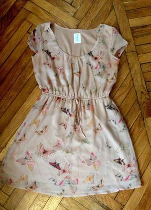 Легкое летнее платье chillin cropp