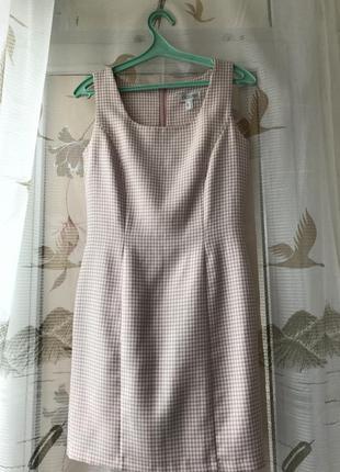 Елегантное розовое платье