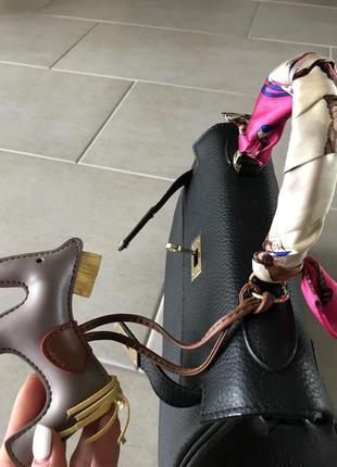 Кожаная сумка hermes kelly