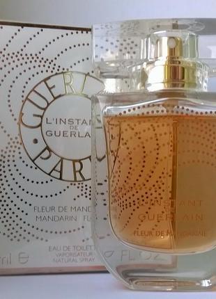 Guerlain l'instant de guerlain fleur de mandarine лимитка 2007 года!