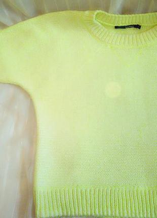 Свитер лимонный жёлтый
