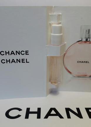 Пробники chanel chance eau vive 2 ml оригинал