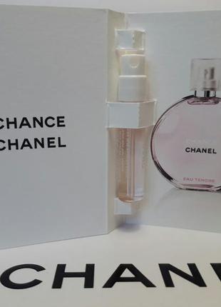 Пробники chanel chance eau tendre 2 ml оригинал