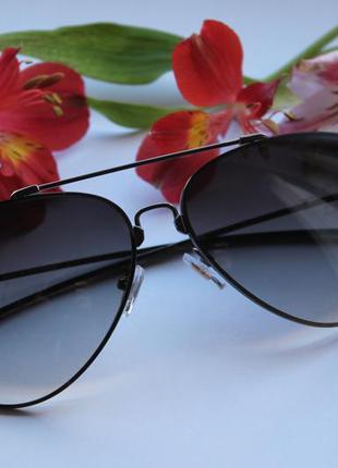 Новые солнцезащитные очки,черные, градиент