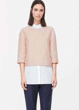 Оригинальная блуза от бренда cos разм. 38