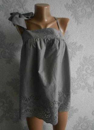 Блузка с шитьем next в идеальном состоянии батал