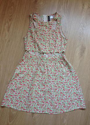 Чудесное потрясающее лёгкое платье от h&m