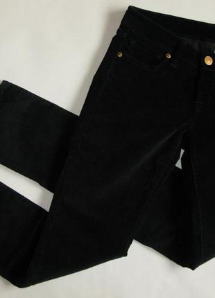 Стильные вельветовые брюки штаны скини skinny дудочки узкачи uniqlo 10-12 m