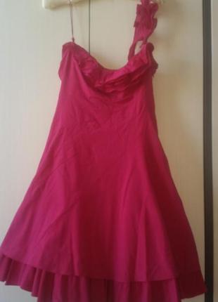 Яркое коктейльное платье - идеально для свидания, вечеринки,  выпускного вечера