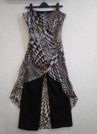 Комбинезон платье- брюки vera mont