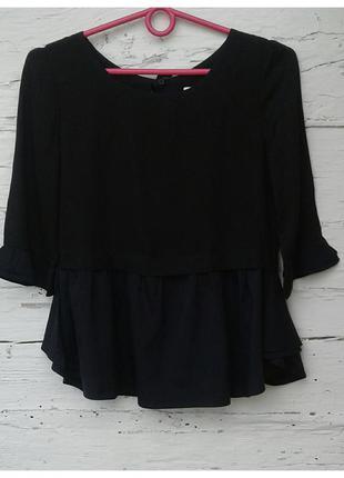 Блуза с баской от joe