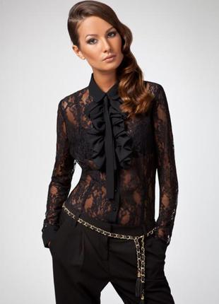 Гипюровая блуза  calliope  кружевная блузка