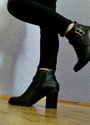 Демисезонные ботиночки на каблуку  graceland