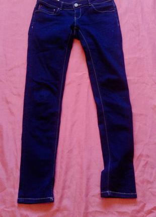 Узкие базовые джинсы c заниженной талией джанкер(обмен только киев)