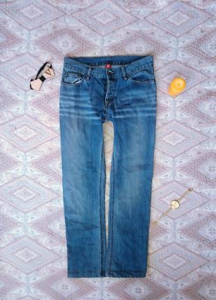 Джинсы h&m, джинсы, прямые джинсы