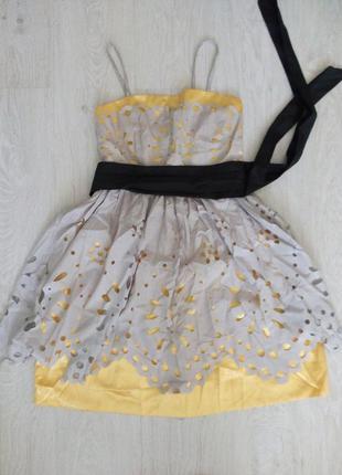 Коротка випускна/ вечірня сукня