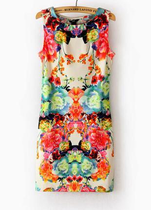Мега нежное и женственное платье в цветочный принт