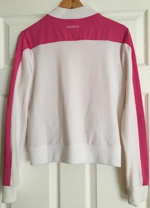 Олдскульная куртка  олимпийка lacoste