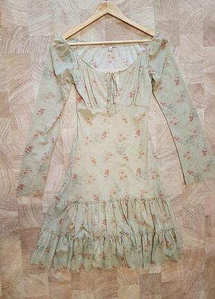 Весеннее платье бренд axara в идеальном состоянии
