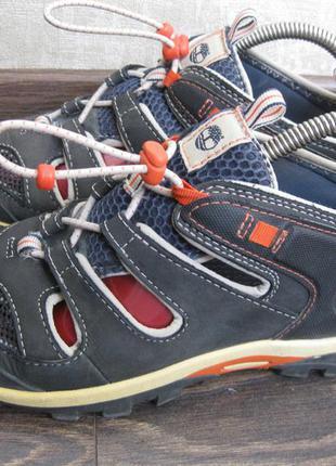 Летние кроссовки timberland оригинал кожа 37-38р.