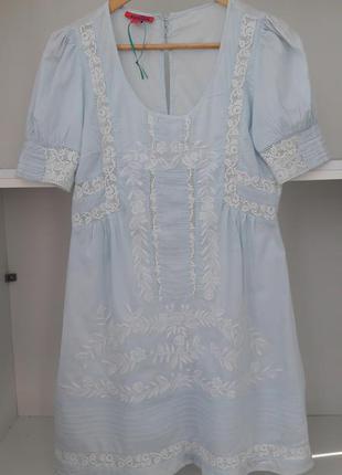 Летнее платье с вышивкой 41758