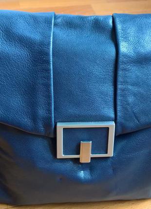 Кожаная сумка на плечо autograph.