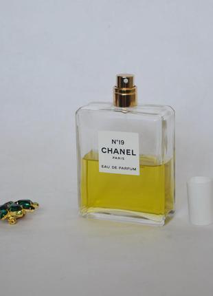 Chanel 19 парфюмированная вода оригинал тестер