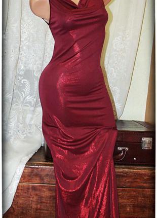 Шикарное,вечернее платье с открытой спинкой,р.xs-m