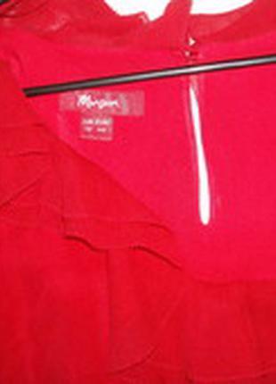 Красное шелковое платье monsoon в отличном состоянии