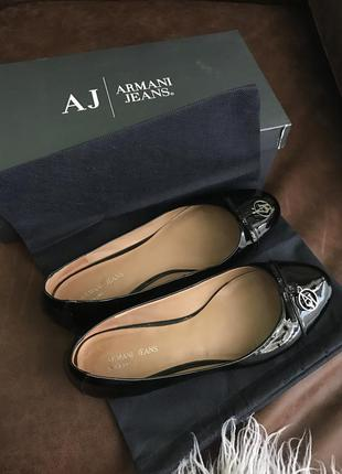 Armani jeans балетки