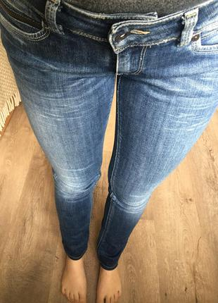 Новые джинсы скини pepe jeans zara h&m