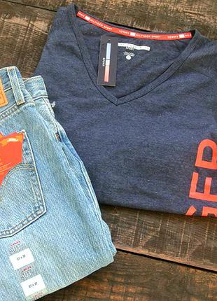 Tommy hilfiger спортивная футболка (39$)