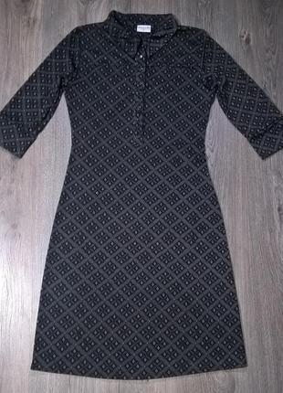 Платье biaggini в интересный орнамент