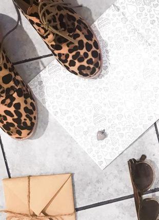 Супер леопардовые туфли
