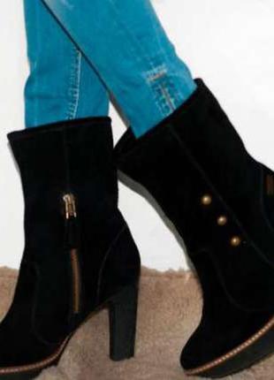 Ботильоны зимние pepe jeans london