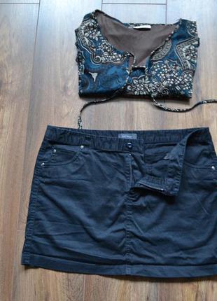 Мини юбка kiabi