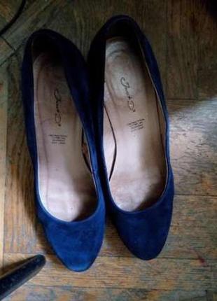 Туфли замшевые из германии janet d