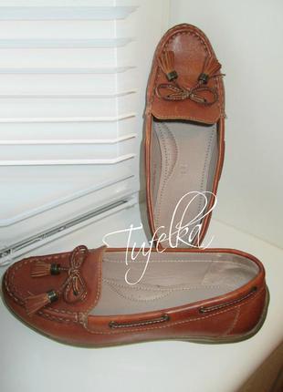 Кожаные туфли мокасины footglove камбоджа