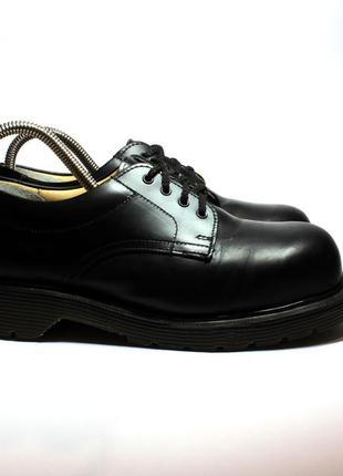 Кожаные туфли solovair (dr.martens), размер 38