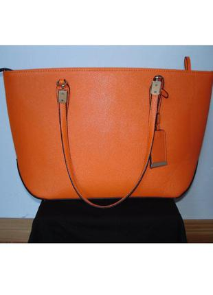 Яркая сумка шоппер от dorothy perkins