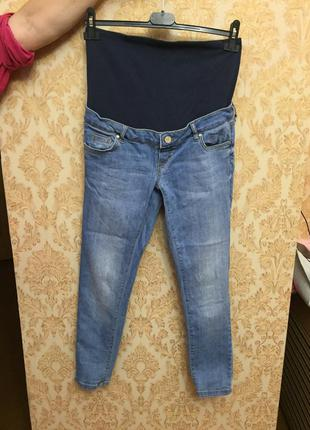Mango джинсы для беременных, м р.