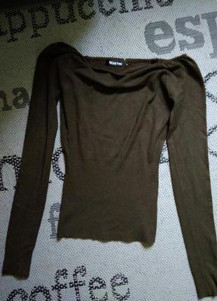 Шикарна блузочка з відкритими плечима від miss two